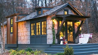 Most Beautiful LOW COUNTRY Cottage Tiny Home by Designer Cottages