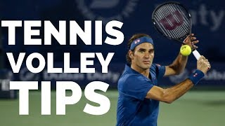 Tennis Volley Lesson - The Foundation of Being A Solid Net Player
