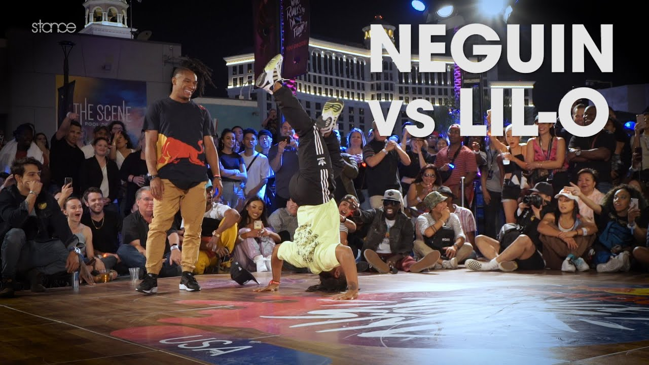 Neguin vs Lil-O // .stance // RED BULL DANCE YOUR STYLE USA FINALS 2019
