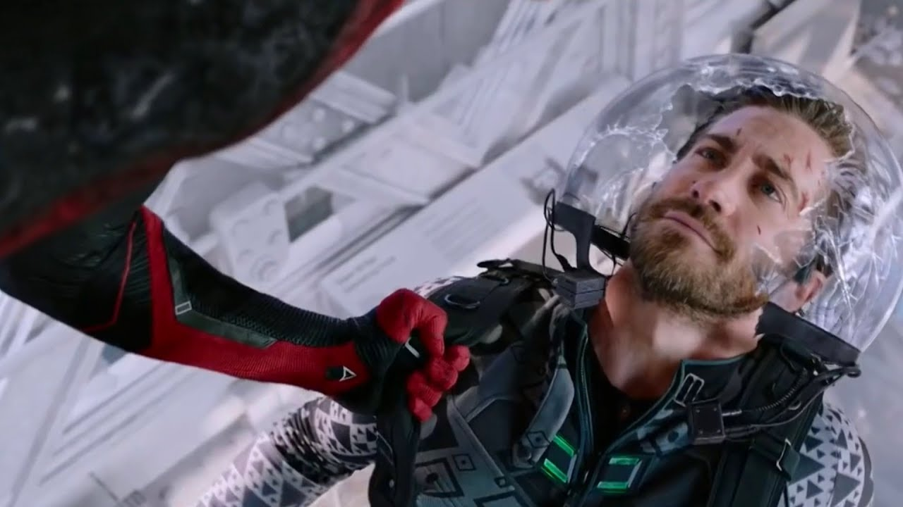 Download Peter vs Beck Final Fight  Spider Man Far From Home 2019 Movie Clip HD