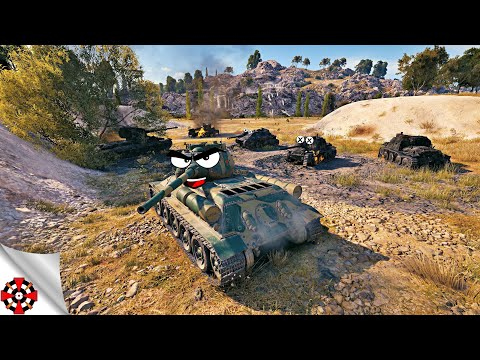 World of Tanks - TOP PLAYS! (WoT best replays)