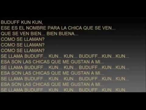 BUDUFF KUN KUN karaoke
