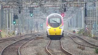 Trains at Tamworth (Low Level) | 21/10/2017