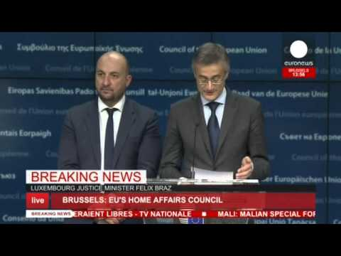 EU justice ministers comment on priorities countering terrorist threat in Europe