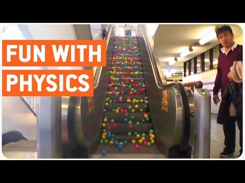 Escalator Balls | Fun With Physics