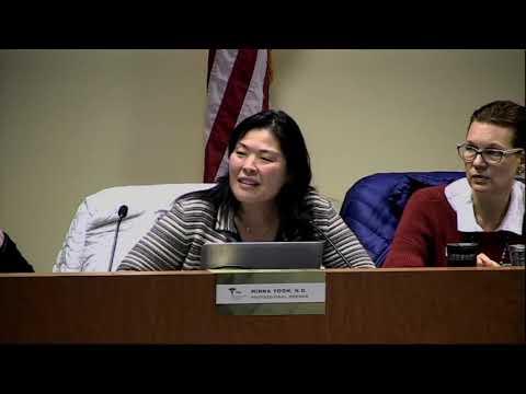 Naturopathic Medicine Committee Meeting (part 2 of 2) - January 28, 2020