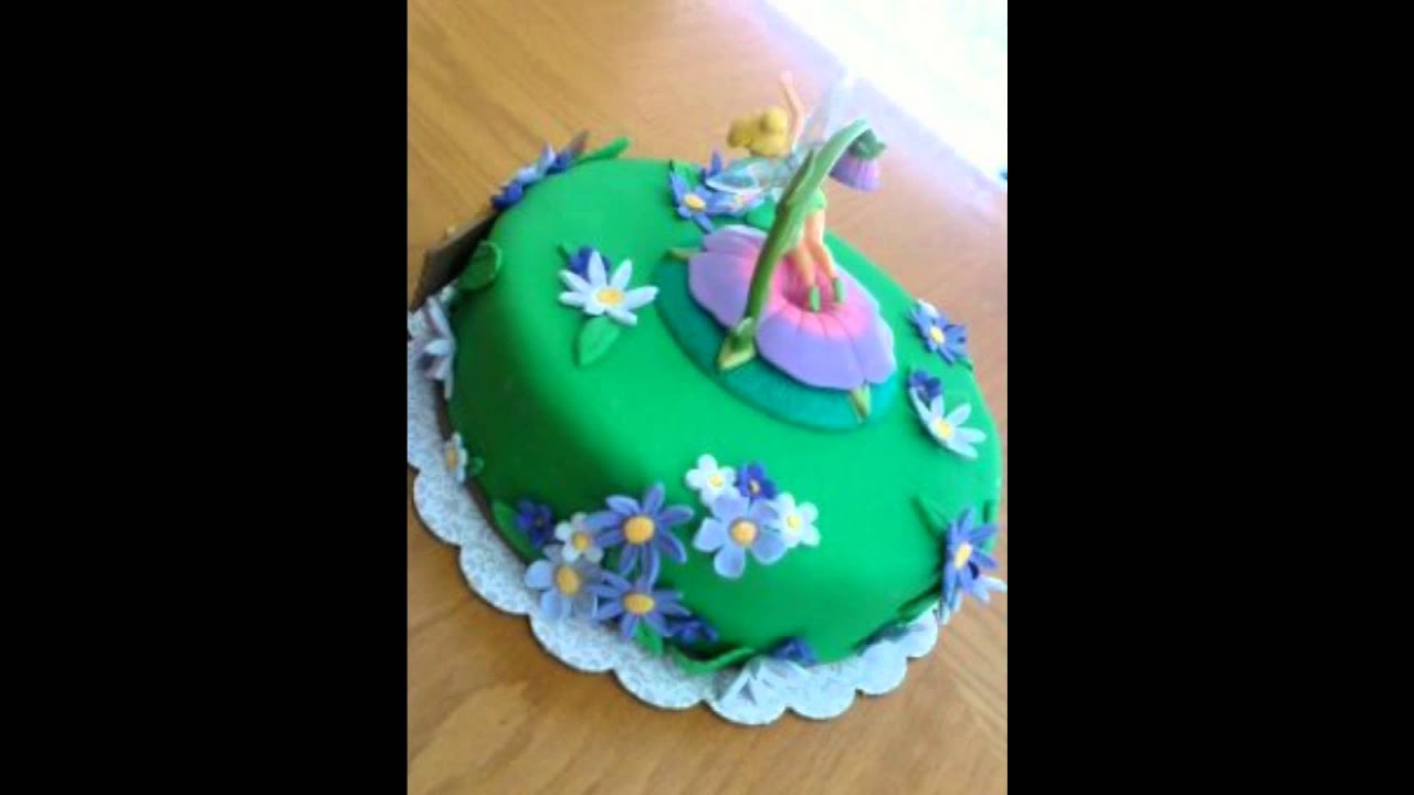 Tinkerbell Birthday Cake Youtube