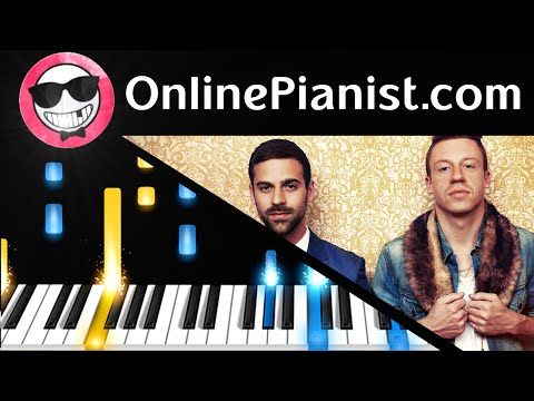 Macklemore & Ryan Lewis - Downtown Piano Tutorial - How to Play