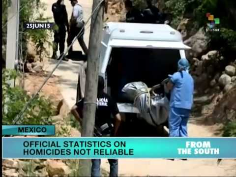 Mexico: Over 2000 Changes Made to Homicide Data