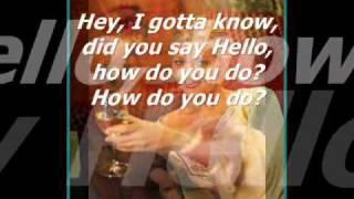 Roxette - How Do You Do! (Lyrics).flv