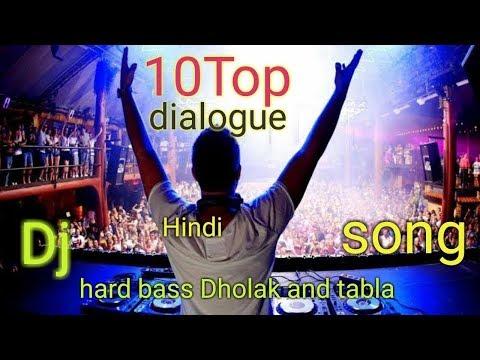 🎧DJ hard mix🎶 non stop Hindi flim🥁 dialogue 2018 mp3