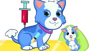 Fun Care Pregnant Dog | Newborn Pet Baby Play Doctor Kids Games