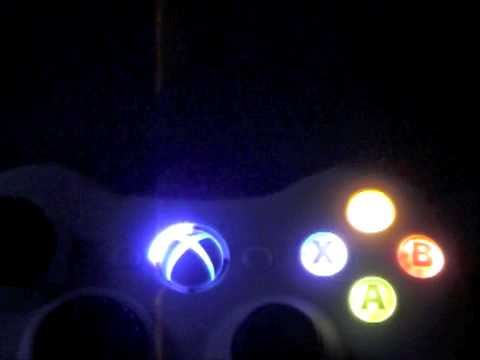 Xbox 360 Wireless Controller Light Led Mod Abxy Ring Of Light
