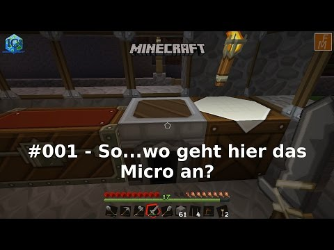 [DE] #001 - Industrial Craft 2 für Minecraft - Crop, Iron Furnace, Cutter