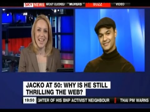 Anthony King on SkyNews BBC News Channel 4 Channel 5 Michael Jackson media s