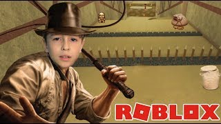ROBLOX: I TURNED INDIANA JONES INTO EPIC MINIGAMES | Family playing