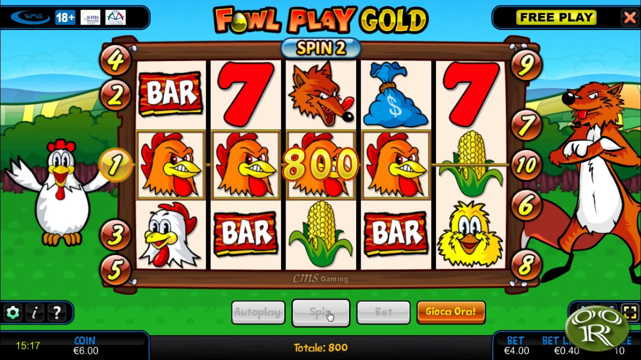 Fowl play gold gratis online