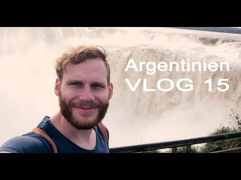 Travel VLOG 15 | Buenos Aires and Puerto Iguazu, Argentina | waterfalls, animals and art