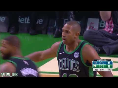 Al Horford 10 Assists vs Orlando Magic (11/24/2017)