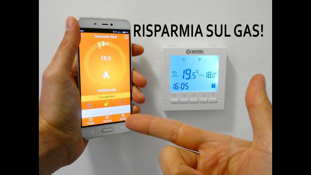 Beok Bot 313w Termostato Wifi Smart Per Caldaia A Gas