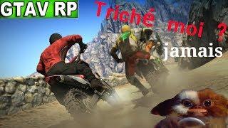 MOI TRICHER ? JAMAIS ! COURSE DE CROSS  GTA V RP (hors-serie)