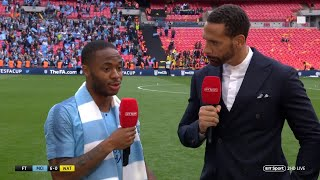 quotyou39re-bantering-mequot-raheem-sterling-reacts-brilliantly-to-fa-cup-hat-trick-stat