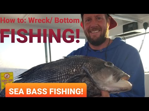 How To: Bottom Fishing On Wrecks And Structure