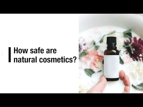 How safe are natural cosmetics