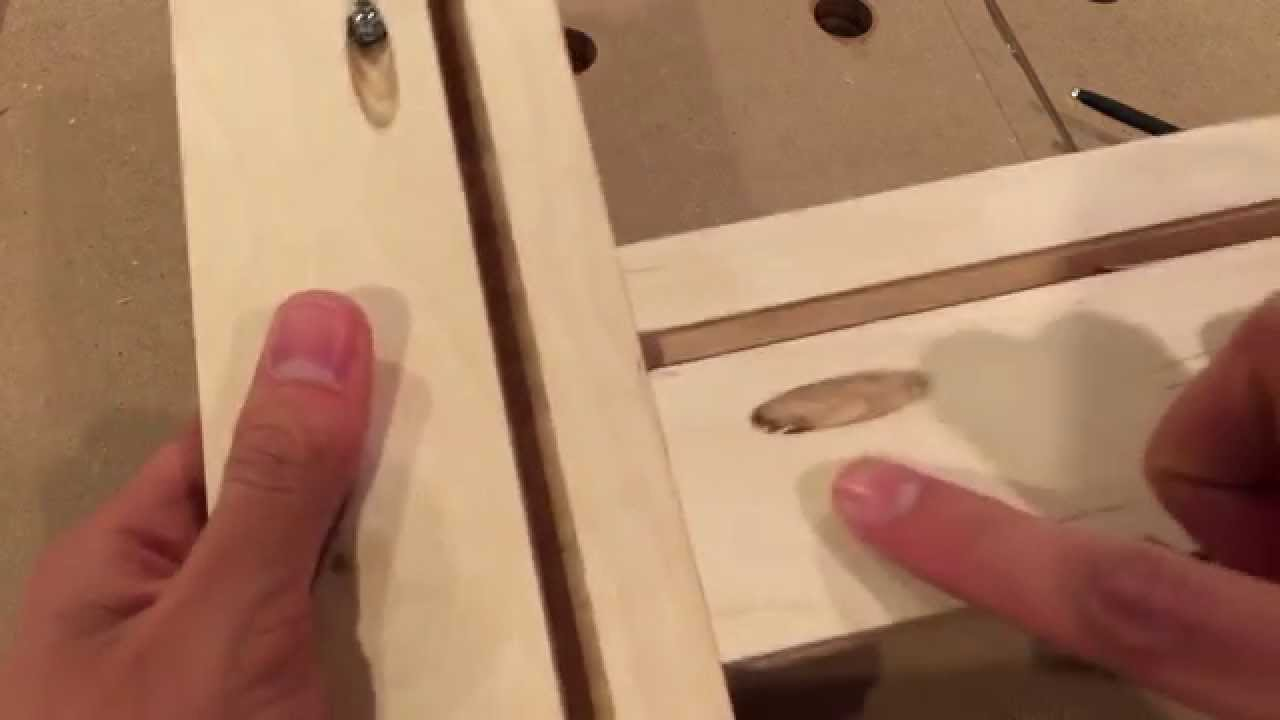 improving the diy adjustable routing template youtube