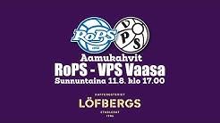 Löfbergs aamukahvit RoPS - VPS 11.8.2019