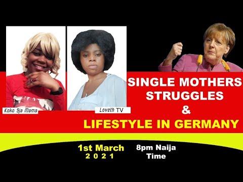 Nigeria Single Mothers Struggles Life In Germany