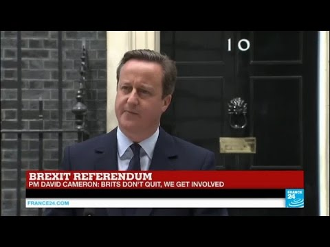 "Brexit vote: David Cameron makes personal appeal to stay in the EU ""Brits don't quit!"""