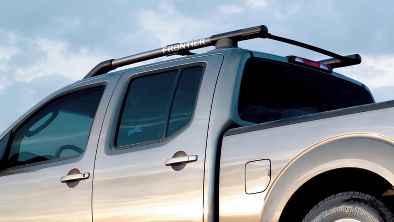 2017 nissan frontier roof rack if so equipped youtube. Black Bedroom Furniture Sets. Home Design Ideas