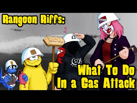 Rangoon Riffs #14: What To Do In A Gas Attack (Feat. Diamanda & Omega)