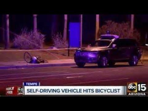 Uber Kills Woman in Self-Driving Car Test in Arizona