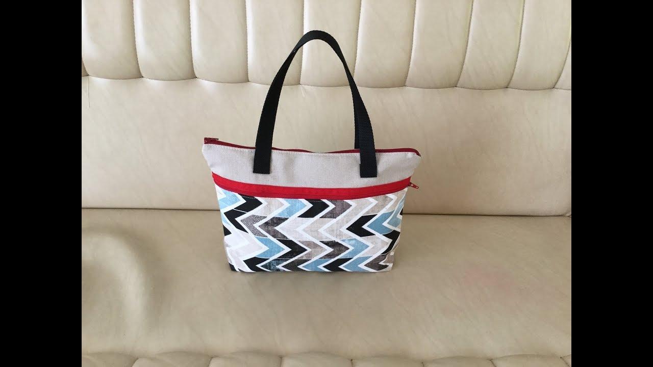 Coudre un petit sac à Multi usages Tuto Couture Madalena