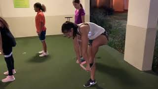 E-FIT Tip 1 : Girls Golf Miami fitness