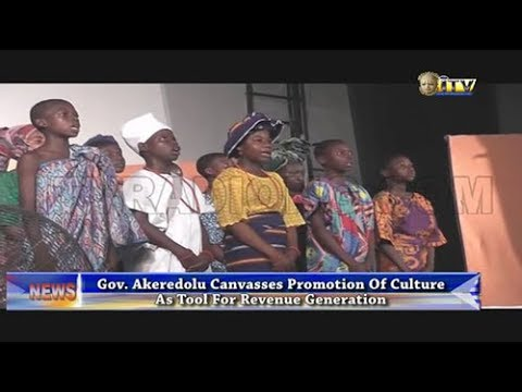 Gov. Akeredolu canvasses promotion of culture as tool for revenue generation