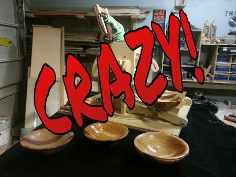 """Turning """"Wooden Bowl""""with a """"TABLE SAW"""""""