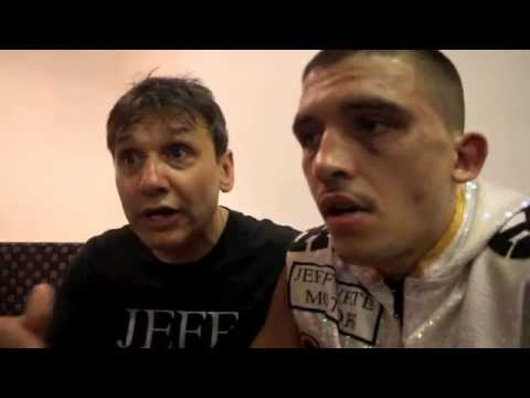 LEE SELBY & CHRIS SANIGAR POST FIGHT INTERVIEW FROM CRAVEN PARK (HULL) / SELBY v SIMION