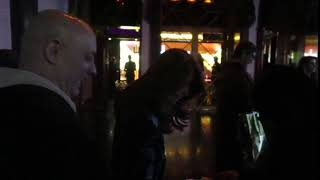Angie Everhart signing autographs at Avalon Hollywood after Hollywood Beauty Awards