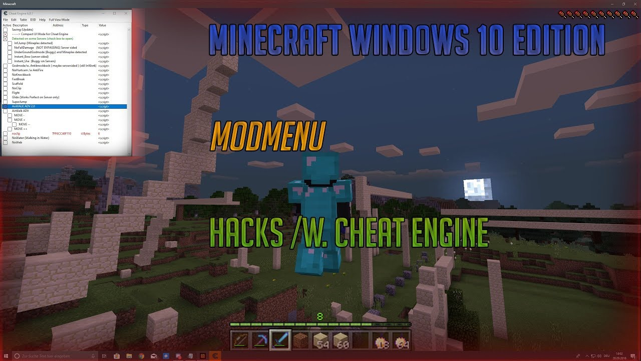windows 10 hacks and mods