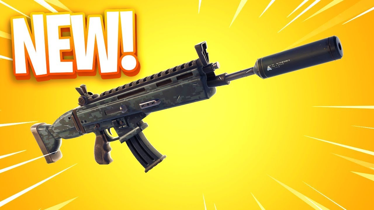 The New Suppressed Scar Assault Rifle In Fortnite