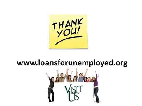 Loans For Unemployed- People with no job can easily access money in crisis