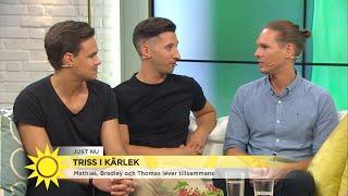 Triss i kärlek: Så är det att leva tre - Nyhetsmorgon (TV4)