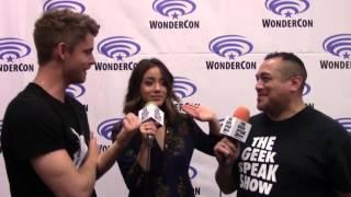 WonderCon 2016 - Luke Mitchell & Chloe Bennet