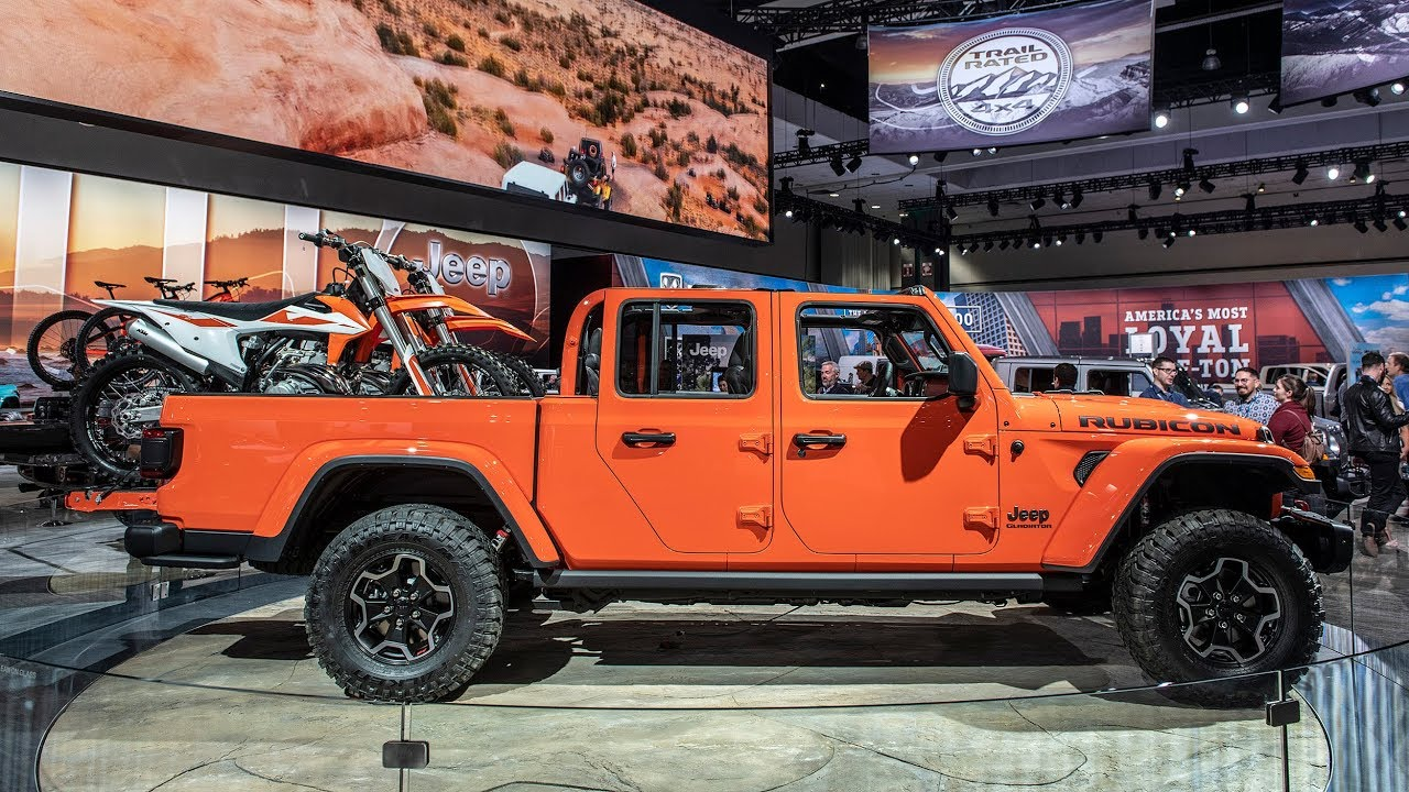 2020 Jeep Gladiator pickup revealed with diesel option ...