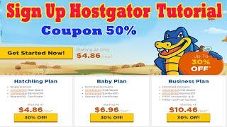 Hướng dẫn mua Hosting tại Hostgator kèm Coupon | Signing Up With HostGator