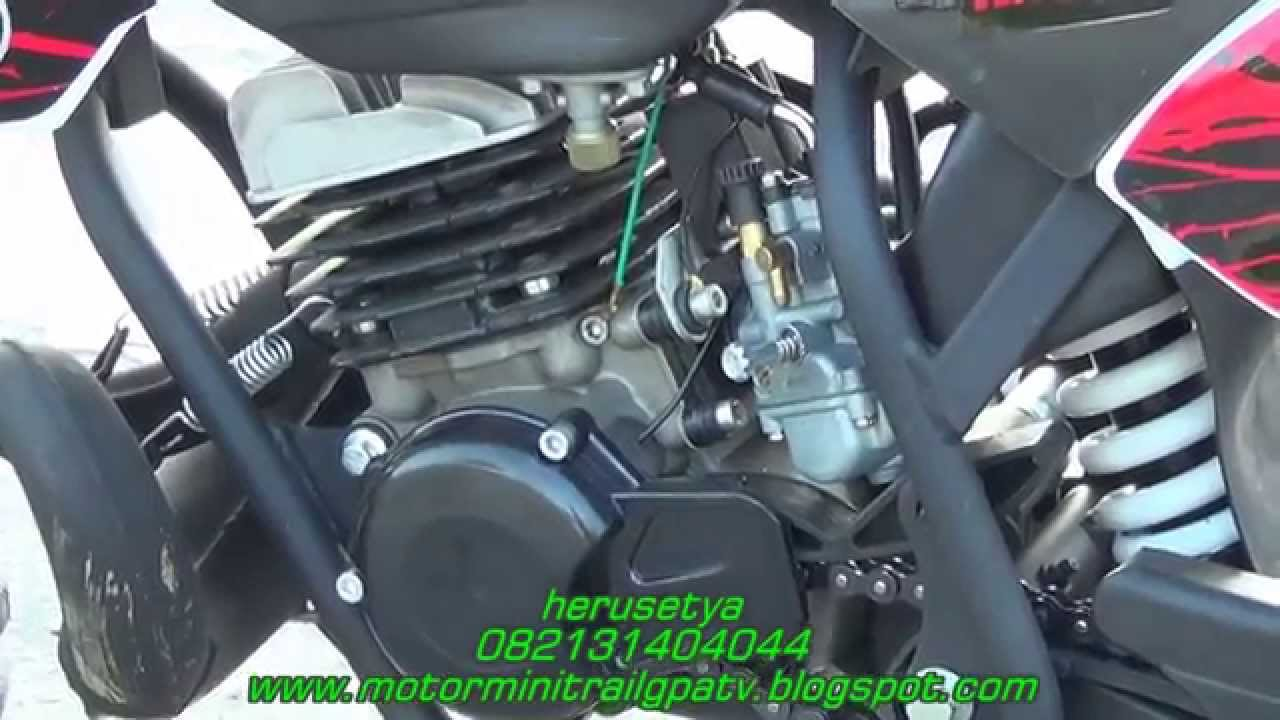Motor Kecil Trail Mini 50cc Mesin Mini King 082131404044 Surabaya