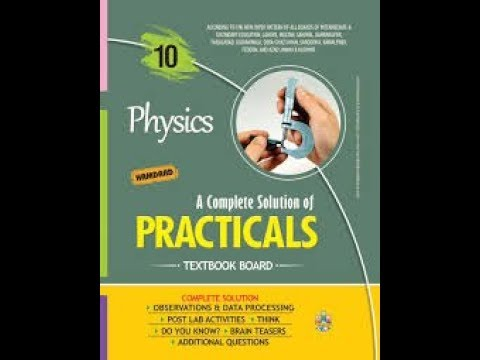 10th Class Physics Practical Complete Observation